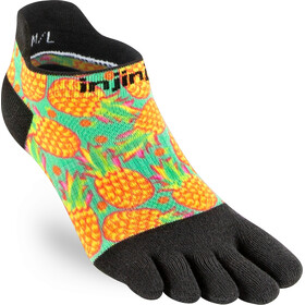 Injinji Spectrum Run Lightweight No Show Socks Women, pina